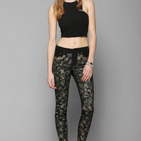 BDG DIY Twig Mid-Rise Jean - Black - Urban Outfitters
