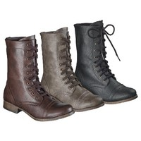 Women's Mossimo Supply Co. Khalea Trooper Boot - Assorted Colors