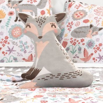 Such A Fox 4PC Quilt Pink Bedding SET
