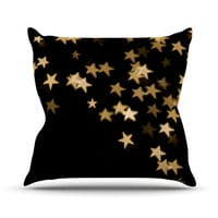 "Skye Zambrana ""Twinkle"" Throw Pillow"