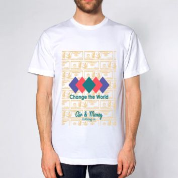 Dollar Bill Men's T-shirt - White