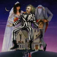 Beetlejuice Movie Poster 24x36