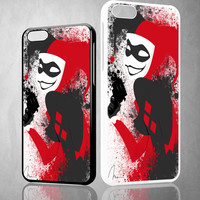 Harley Quinn X0301 iPhone 4S 5S 5C 6 6Plus, iPod 4 5, LG G2 G3, Sony Z2 Case