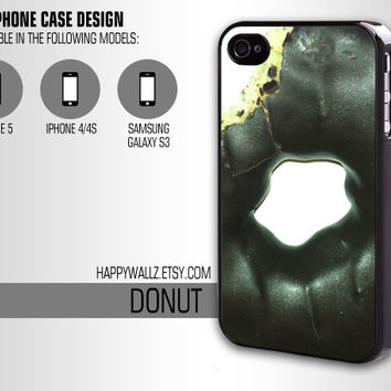 Donut Iphone Case Food Iphone 4 case Hipster Iphone 5 case Iphone 4s case Samsung Galaxy S3 Case Iphone 4 Cover
