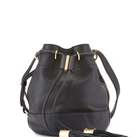 Vicki Vachetta Bucket Bag, Black - See by Chloe