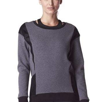 Michi Blade Sweatshirt - Grey/Black