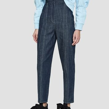 Tibi / Raw Denim Easton Jean