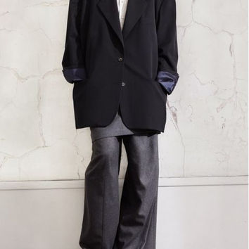 Maison Martin Margiela Grey Dress Pants With Skirt Overlay (Maison Martin Margiela for H&M)