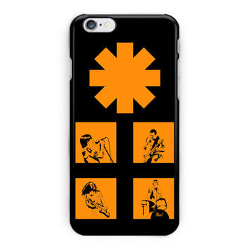 Red Hot Chili Peppers Rock Band iPhone 6 Plus Case