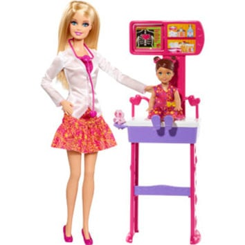 Walmart: Barbie Careers Complete Play Doctor Set