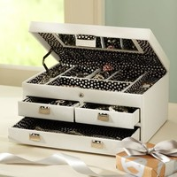 Large Classic Jewelry Storage Box