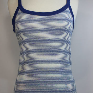 Super Cute 70's Striped Dazed And Confused Tank Top