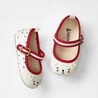 Gap Baby Cat Dot Mary Jane Flats