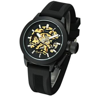 Men's Luxury Hollow Skeleton Automatic Watch