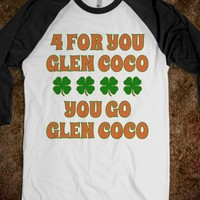 You Go Glen Coco Lucky CLover St Patricks Day T Shirt