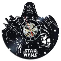 Star Wars Vinyl Record Clock