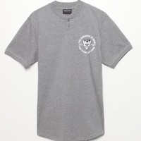 The Hundreds Cerritos Jersey T-Shirt - Mens Tee - Grey