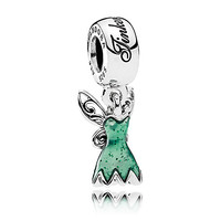 Tinker Bell Dress Charm by PANDORA | Disney Store