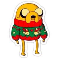 Adventure Time: Jake The Dog Christmas Sweater