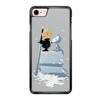Winter Peanuts Snoopy iPhone 7 Case