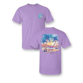 Sassy Frass Sweet Retreat Vacation Relax Beach Comfort Color Girlie Bright T Shirt