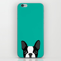 Boston Terrier iPhone & iPod Skin by Anne Was Here