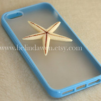 Iphone 5 Case starfish iphone 5 case whtie starfish by belindawen