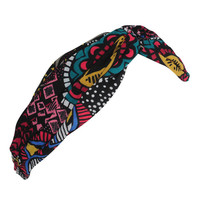 Knotted Tribal Print Headwrap | FOREVER21 - 1000047386