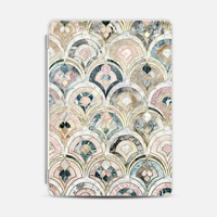 Art Deco Marble Tiles in Soft Pastels iPad cover iPad Air 2 Cover by Micklyn Le Feuvre | Casetify