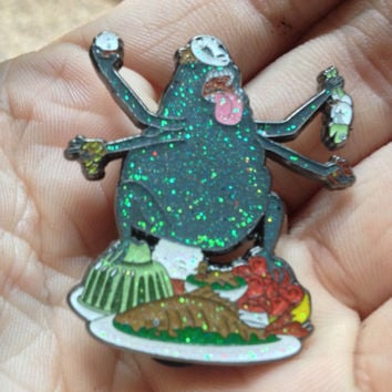 Glitter No Face Spirited Away Pin