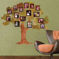 $119.99 Oak Family Tree Wall Sticker and 20 Frame Wall by MyWallStickers