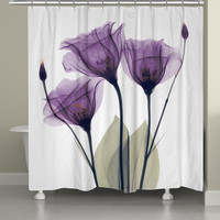 Gentian Hope Shower Curtain