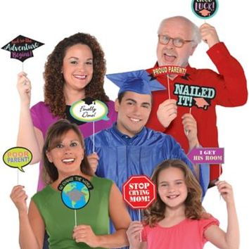 Family Graduation Photo Booth Props 13ct   Party City