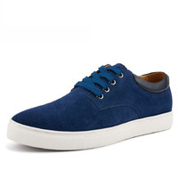 Brushed Suede Skate Shoes
