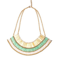 Bright Multi Section Necklace