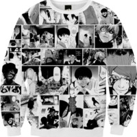 Tokyo Ghoul Sweatshirt created by adiostoreadumb | Print All Over Me