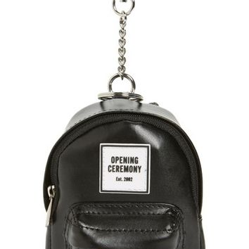 Opening Ceremony Leather Backpack Bag Charm | Nordstrom