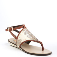 Shoes | Buy More Save More: Sandals | Bahari Snakeskin Sandals | Lord and Taylor