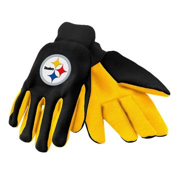 Pittsburgh Steelers - Adult Two-Tone Sport Utility Gloves