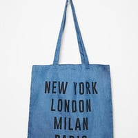 Cities Shopper Tote