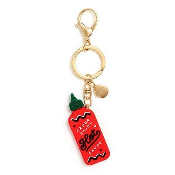 Ban.do Hot Sauce Keychain