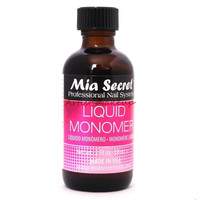 Mia Secret Professional Acrylic Nail System - Liquid Monomer 2 oz (59 ml) - USA