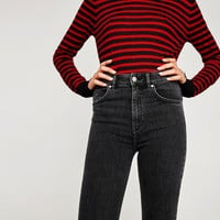 HIGH WAIST VINTAGE JEGGINGS