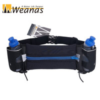 Wetsuit Fabric Water-Resistant Hydration Runner Belt Running Waist Pack