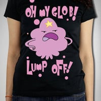 Adventure Time 'Oh My Glob! Lump Off!' Junior Fitted Tee