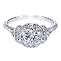 Ashley Ready for Love Diamond Engagement Ring Steven Singer Jewelers