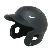 Nike Show RF Fitted Batting Helmet - Adult (Black)
