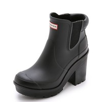 Hunter Boots Original Block Heel Chelsea Boots