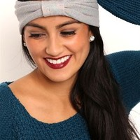 Knit Headwrap with Knot