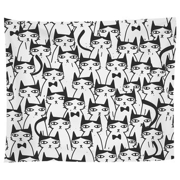 Cats Cats Cats Tapestry